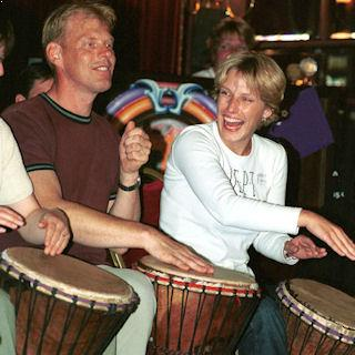 Team Building Drumming